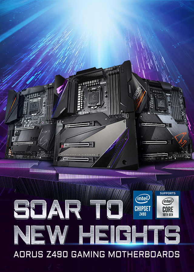 [ TH ] Z490 Soar to New Heights