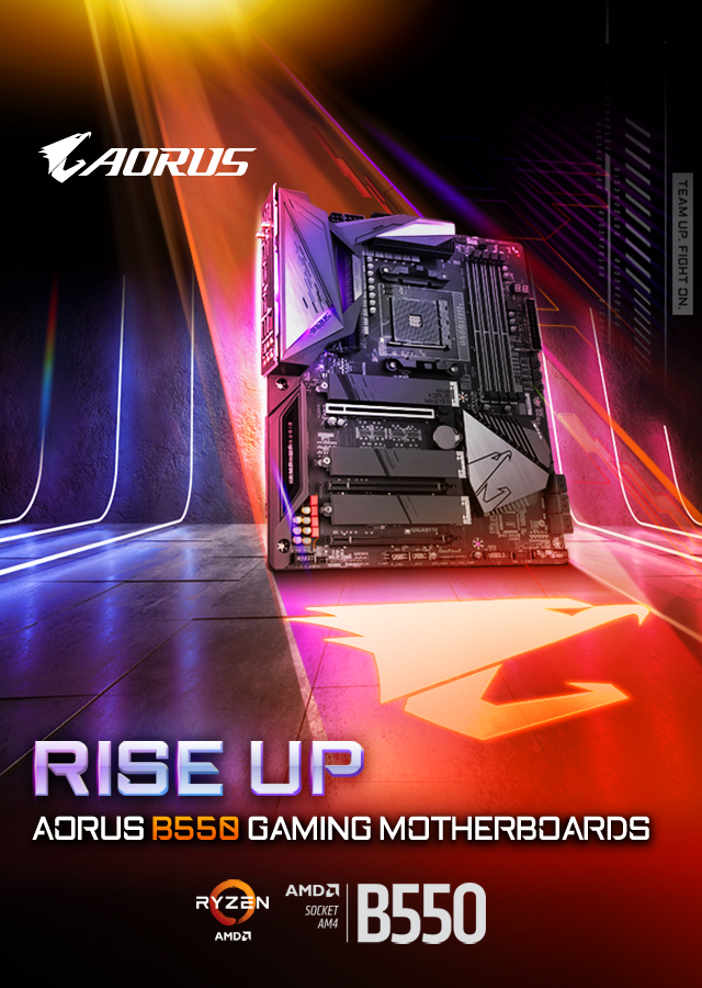 [ TH ] B550 Rise Up
