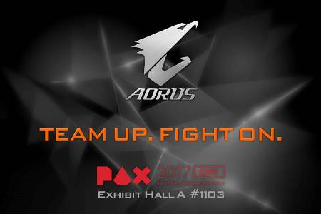 Team Up with AORUS at PAX East 2017