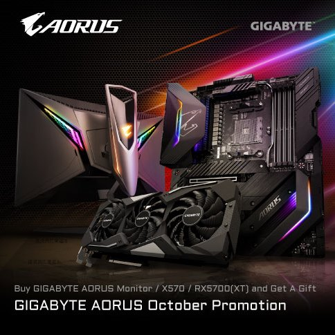 [TH] GIGABYTE AORUS October Promotion