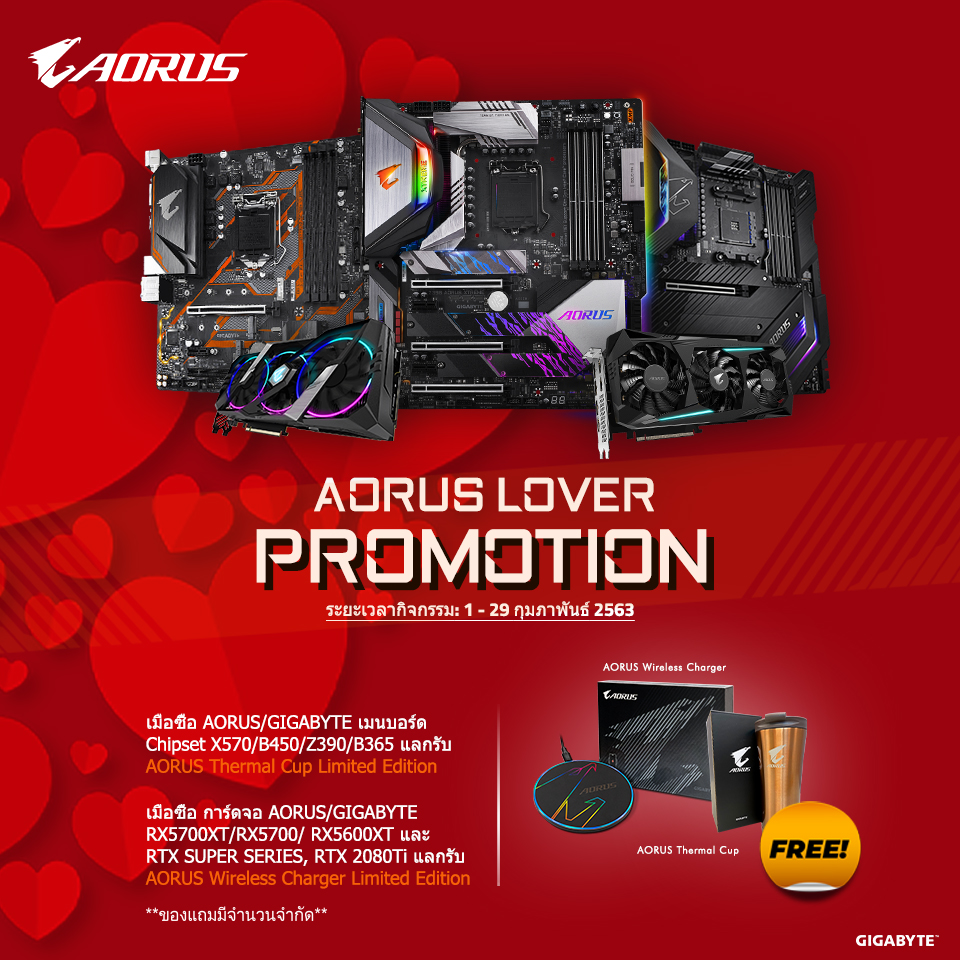 [Thailand] AORUS Lover Promotion